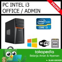 [NEW] Komputer PC Rakitan i3 Untuk Admin, Kantor, Rumah, Office