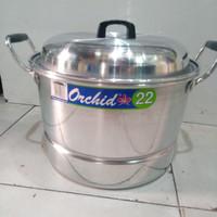 Panci Dandang/ Panci Kukus/ Panci Serbaguna Orchid 22 cm