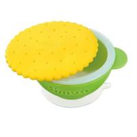 Simba Anti Scald Silicone Bowl Set Mangkok Makan Bayi anti Slip
