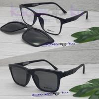 Promo Paket Lensa Minus/Plus Kacamata Clip On OX 8008 Terlaris