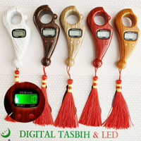 Tasbih Digital Kayu LED / Tasbih Digital / Tasbih Digital Counter LED