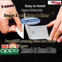 Anti Gores / Screen Protector Oppo Reno4 / Reno 4 Pro clear dan glare