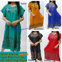 Dst 105 daster payung batik rayon Rotary Sritex, baju tidur