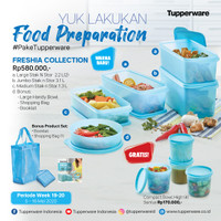 Tupperware Freshia Collection Promo