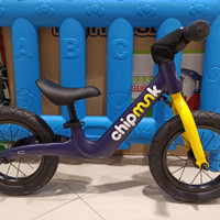 Sepeda Anak Chipmunk Balance Bike Kick Bike Import Kids Bike