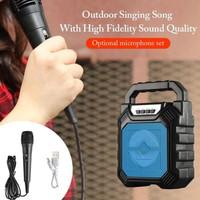 Speaker Portable Bluetooth F-668 Free Mic Radio Tf Card - Spiker f-668
