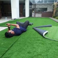 Berbagai macam pilihan redy stok karpet alas sintetis (rumput