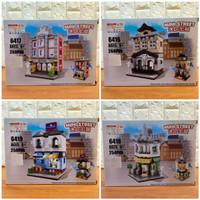 Lego Mini Street Store Block Set - Lego Hsanhe