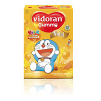 Vidoran Gummy Multivitamin Vitamin C Anak Doraemon