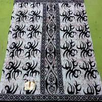 sarung batik bahan goyor/santung motif mahda halus adem