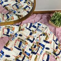 Anna Set in Abstract - Baju Tidur - Sleepwear / Piyama