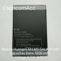 BATRE BATREI BATRAI BATTERY HUANGMI M3 / M5 GALAXY A69 KF36 5800 mAh