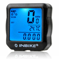 Speedometer Sepeda Cycle Computer INBIKE Waterproof with Backlight
