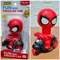 Mainan Fun Mini Presure Car Avengers