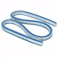 Quilters Flexible Curve Ruler CT-50 - Penggaris Jahit Pola Fleksibel
