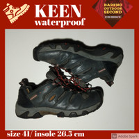 Sepatu Outdoor Hiking gunung Second Keen Size 42