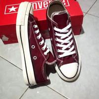 sepatu converse merah maroon 70s