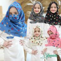 Jilbab Segiempat Anak Mimos Kids Ori Danisha Hijab