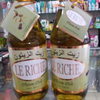 minyak zaitun le riche olive oil 300ml herbal bisa di minuk