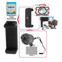 Microphone Boya BY - MM1 Shotgun DSLR / Handphone, dll