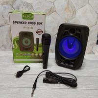 Speaker Portabl Bluetooh Fleco F-416 Free Mic - Spiker Bluetooth F-416