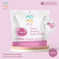 MoMaMi Eazy Breeze Kids Mask Girl - Masker Anak (2 pcs)