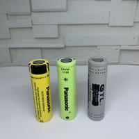 Baterai 18650 Panasonic 6000Mah 3.7V - Batre Cas NCR18650 Li-Ion 3.7