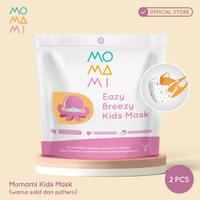 MoMaMi Eazy Breeze Kids Mask Unisex - Masker Anak (2 pcs)