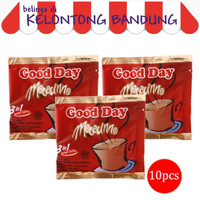 Kopi Good Day Mocacinno GoodDay - 1 Renceng / Renteng isi 10 Bungkus