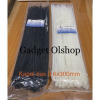 Kabel Ties 30cm - Kabel Tis 30cm - Cable Ties - Tis 3.6x300mm - Ikat