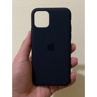 Iphone 11 Pro Max Black Silicone Case Original Apple Without Box