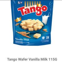 tango wafer pouch 115 gr coklat ,vanila