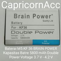 BATRE BATREI BATTERY HUANGMI M5 KF36 BRAIN BRAIN POWER 5800 mAh