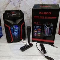 Speaker Bluetooth Portable Fleco F-612 Free Mic - Spiker Fleco F-612
