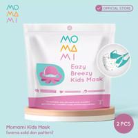 MoMaMi Eazy Breeze Kids Mask Boy - Masker Anak (2 pcs)