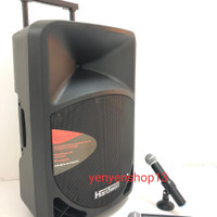 Speaker Portable meeting Hardwell 15 inch with Bluetooth and USB