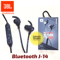 Handsfree Bluetooth JBL Headset Earphone J-14 Wireless Harman