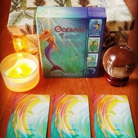 Oceanic Tarot: Includes a Full Deck of Specially Commissioned Tarot Ca