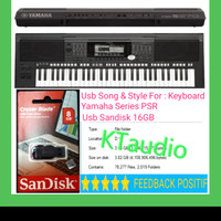 USB SONG STYLE KEYBOARD YAMAHA 70rb lagu