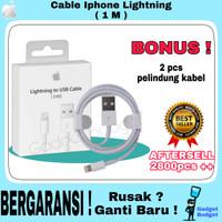 ORIGINAL 100% KABEL CHARGER IPHONE ORI CABLE DATA IPHONE LIGHTNING 6 7
