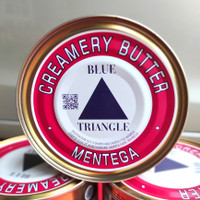 Butter blue Triangle / Segitiga Butter / Triangle blue Butter 340gr