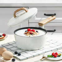 Cooker King Ivory Sauce Pan with Lid 18 Cm