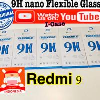 Redmi 9 nano flexible Soft tempered glass anti gores Xiaomi redmi9