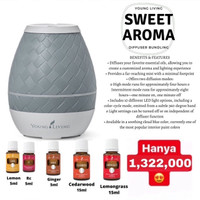Paket Murah Sweet Aroma Diffuser plus Essential Oil