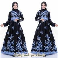 Baju muslimah gamis lebaran Baju ibu kekinian mantul