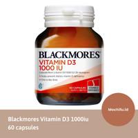 Original Blackmores Vitamin D3 1000iu Bone Health Suplemen Tulang 60