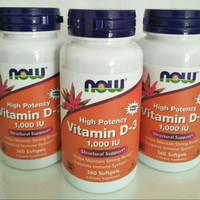 Now vitamin d3 vit d3 1000 iu 1000iu 360 sg