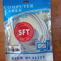 Kabel LAN UTP 3M RJ45 Cat 6 3 meter Terpasang Cable Konektor Cat6