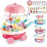 Mainan Anak Perempuan Ice Cream Trolley Masak Masakan Kitchen Set