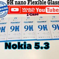 NOKIA 5.3 nano flexible Soft tempered glass anti gores nokia5.3